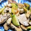 鶏肉・カシューナッツ、ズッキーニの黒胡椒炒め