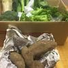 野菜を頂く