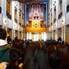 水戸芸術館でオルガン奏者の龍田優美子さんとクリスマスコンサート