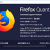 Firefoxのメジャーバージョンアップが動作⇒アドオンが無効に