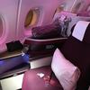 【搭乗記】カタール航空ビジネスクラス 全てに満足したフライト!A380 広州-ドーハQR875