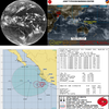 【台風情報】インド洋にはサイクロン(LUBAN)・北東太平洋には熱帯低気圧(22E)と台風26号の卵が存在!米軍の進路予想ではどちらの台風のたまごも『越境台風』とはならず、台風26号にはならない見込み!!