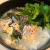 豆腐入り中華もち麦わかめ雑炊の作り方【1食29円】