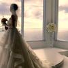 【写真複製・写真修復の専門店】ウエディングドレスの女性 イメージ修正