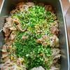 豚肩ロース肉の生姜焼き