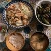 キャベツと卵と油揚げのササッと炒め