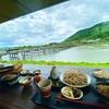 【嵐山よしむら】渡月橋を見渡せる絶景蕎麦屋🥢