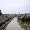 上海観光ナビ-楓涇古鎭の風景はどうなの?バスに乗って行く金山楓涇古鎭。