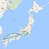 超長距離ツーリング!2500km走って福岡から東京までキャンプしながら帰省してみよう!