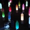 川口・芝園団地でペットボトルランタン点灯〜日中住民のさらなる交流促進を願い