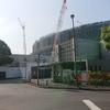 【東京千駄ヶ谷】建設進む『新国立競技場』