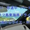 Hawii 珍道中 パート16 オワフ島東海岸ドライブ 天国の海からライエ・ポイント ^^!