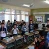 ALTによる英語の授業 やすらぎ通りの様子 リレー練習