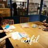 レッスンレポート)12/6本川町教室 やっぱり靴下編みです