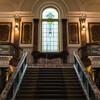 大正時代の雰囲気が残る名古屋市市政資料館で写真を撮る