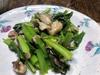 いわしと小松菜のさっぱり炒め