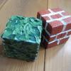 【子供の室内遊び】夏休みの工作~発泡スチロールで手作りブロック~