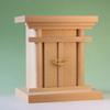 御霊舎の王道 素材重視の尾州桧製 天然素材で作る小型御霊舎