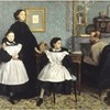 ドガ「ベレッリ家の肖像」 子供の生贄を手助けする者