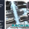 Archimatix 幾何学的な構造体、メッシュのマージなど建物を作るのに便利なノードベースのモデリングエディタ