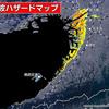大阪府 津波ハザードマップ「南海トラフ巨大地震 梅田など大規模浸水のおそれ」