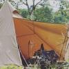 自分のテントやタープ、山岳テントの紹介
