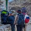 エベレストトレッキング10-11日目ゴラクシェプ5150m→ナムチェ3440m 高山病発症!ヘリ代出せずに歩いて降りた。