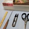 縫製7つ道具 と 縫製工場への思い。