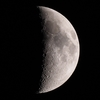 「月」【月面エックス】の撮影 2021年4月19日(機材:ミニボーグ50FL、E-PL5、ポラリエ)