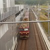 貨物列車が走る新幹線の駅「奥津軽いまべつ駅」