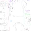 【72】  1/27 「服の描き方を考える②-Tシャツ編①-」