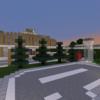 【Minecraft】駅南側にロータリーをつくる【コンパクトな街をつくるよ19】