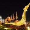 ラーマ5世騎馬像広場(ロイヤルプラザ)で開催中のイベント「ウンアイラック・クラーイクワームナーオ」に夜の散歩がてら行ってきた。