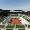 ローマでのテニス大会
