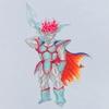 ダークドレアム(スーパーサイヤ人風)|ドラクエ|ドラゴンボール|MATSU