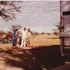 毎日更新 1983年 バックトゥザ 昭和58年7月26日 オーストラリア一周 バイク旅 32日目 22歳 内陸進入 直線道路 行西行独 男女襲来 最長距離 ヤマハXS250  ワーキングホリデー ワーホリ  タイムスリップブログ シンクロ 終活