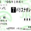 競馬Goods紹介8(記念馬券)