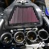 エアフィルターとプラグの交換。R6エンジン不調?