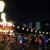 今年で終わり?日本医科大学グラウンド盆踊り大会