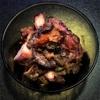 おもたせ 地蛸のプッタネスカ風 / あわび / ブレス産鶏