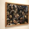 『見送る人々』とその一室について(「生誕110周年記念 阿部合成展 修羅をこえて~『愛』の画家」青森県立美術館、2020年11月28日(土)~2021年1月31日(日))後半