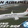 PMDG737NGX用 日本航空(国際線仕様)B737-800 JA317J