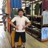 突撃!今日の松浦☆サムライジーンズ の和テイストなワンポント刺繍がイイ感じの襟付きTシャツでほぼサムライコーデで決めてくれました♬