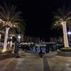 【ドーハ観光】ドーハ人工島、Marsa Arabia の The pearl qatarとDhow harbor の夜景観光