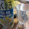 20210815家飲み♪朝酌♪氷結無糖レモン