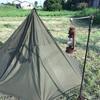 ポーランド軍のテント