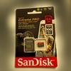4K 動画を撮影するときは、いいSDカードが必要なのだぁ!
