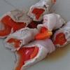 「パプリカの肉巻き」レシピ
