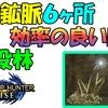 【モンハンライズ】 水没林 レア鉱脈6ヶ所 効率の良い周回 【モンスターハンターライズ】