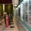 軍事博物館でミンアウンフライン将軍とアウンサンスーチー氏のラブラブ写真